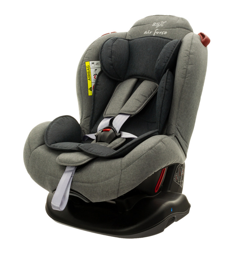 Image of FOTELIK BSX 9504-03 LIGHT GREY EUROBABY